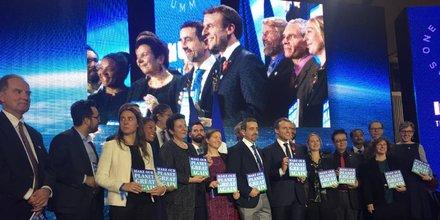 Macron à Tech For Planet
