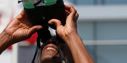 jumelles vue scruter observer binoculars