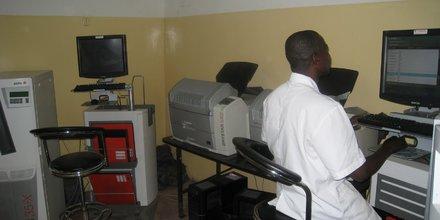 hôpital Tchad personnel