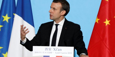 Macron defend une nouvelle route de la soie partagee avec la chine