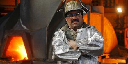 Allemagne usine Thyssen aciérie