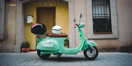 Yego scooter Bordeaux