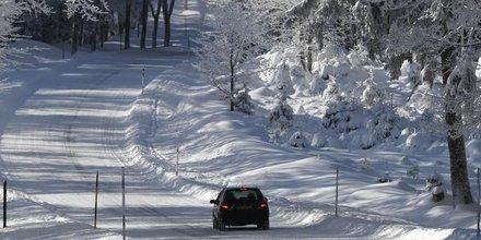 France: circulation perturbee par la neige dans le sud-est