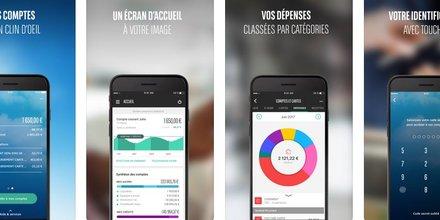 BNP Paribas appli mobile Mes comptes