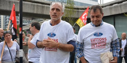 Philippe Poutou et Gilles Lambersend
