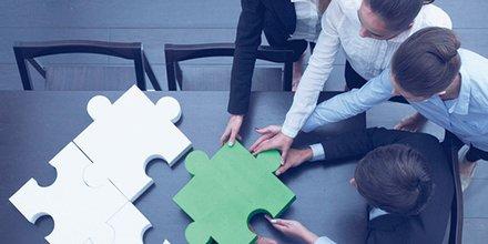 Entreprise, bureau, travail, équipe, coopération, tertiaire, contrat, salariat, international, commerce, étranger,