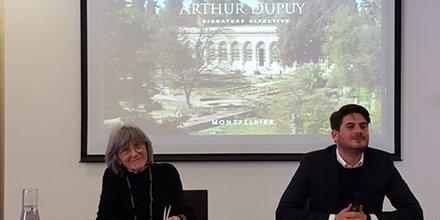 Arthur Dupuy et Chantal Marion, le 20 février 2018