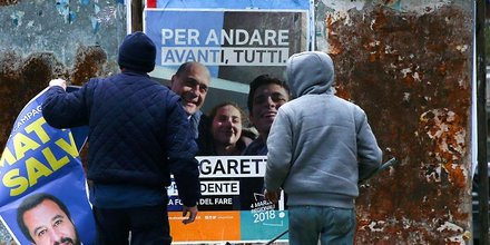 italie campagne d'affichage
