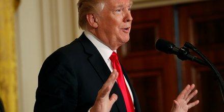 Trump promet de la flexibilite sur l'acier et l'aluminium