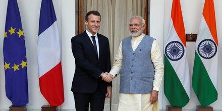 Macron ouvre une nouvelle ere du partenariat avec l'inde