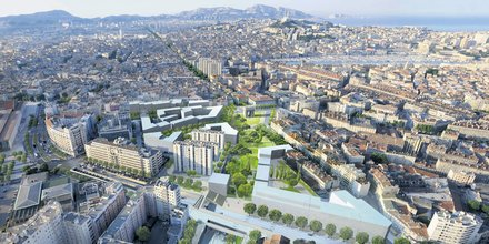 Marseille, Gare Saint-Charles, rénovation urbaine,