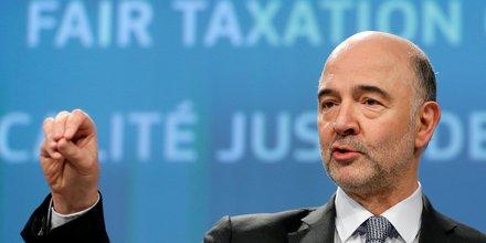 Moscovici, Commission européenne, taxation des Gafas,