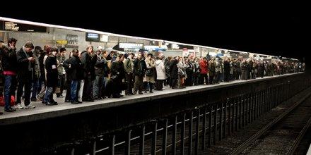 métro, commuters, banlieusards, Paris, transports,