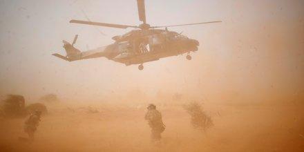Opération Barkhane, armée française, Mali, terrorisme, Inaloglog, hélicoptère NH90 Caiman, militaire, Boko,