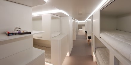 couchettes Airbus