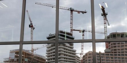 La construction accelere en france en fevrier
