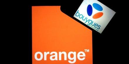 Le pdg d'orange exclut de parler a nouveau mariage avec bouygues