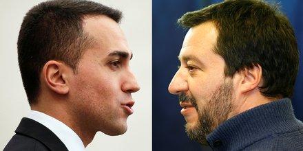 Italie di Maio et Salvini