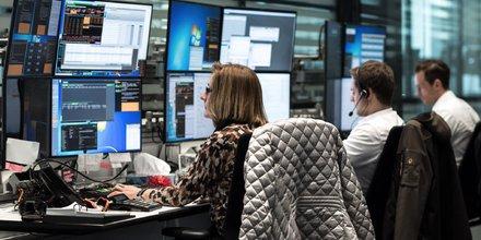 Deutsche Bank trading
