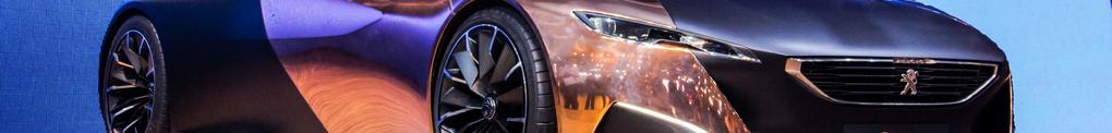 Bando, Peugeot Onyx, auto, salon, concept car,