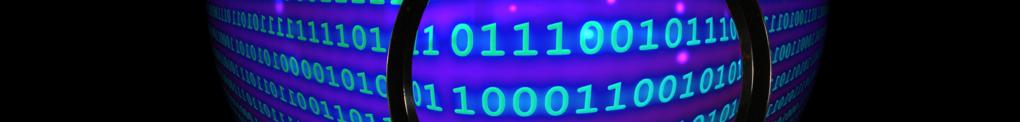 Données binaires (data, big data, chiffrement, internet, pirates cybersécurité, cyberpirates, cryptage, données, vie privée)