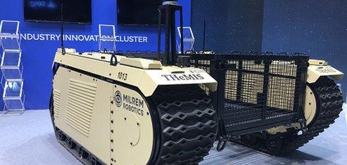 Milrem Robotics Estonie Armée de Terre