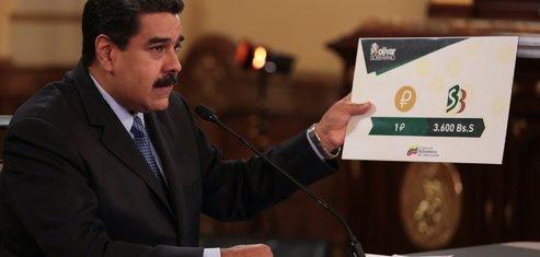 Maduro, Venezuela, petro, cryptomonnaie,