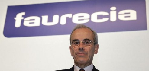 Hausse de 3,4% du CA de Faurecia, porté par l'Europe