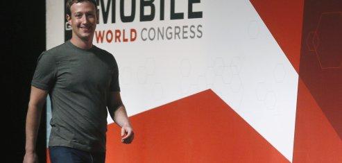 Zuckerberg Facebook MWC