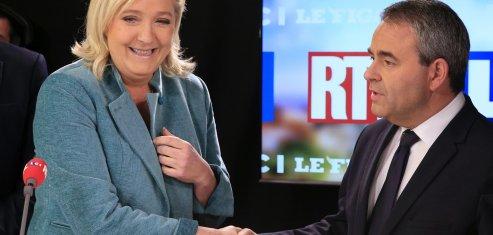 Xavier Bertrand Marine Le Pen