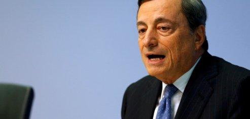 Mario draghi en faveur d'un soutien public aux banques