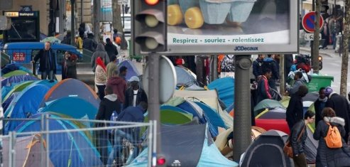 La france ne tolerera plus de camp de migrants, dit hollande