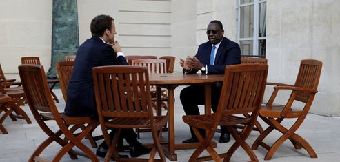 Macky Sall- Macron
