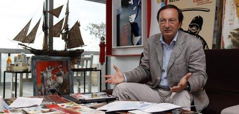 Michel-Edouard Leclerc Président des hypermarchés Leclerc