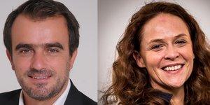 Maxime Mirabeau et Julie Cottineau, fondateurs associés de ForInteX à Montpellier.