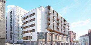 Projet Réhabilitation Hotel Dieu Clermont-Ferrand,