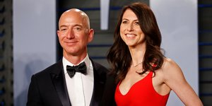 Jeff et MacKenzie Bezos