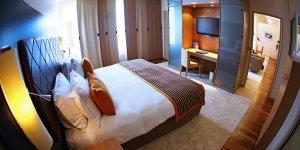 Chambre du Radisson Blue Hotel à Blagnac
