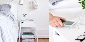 meubles avec chargeur IKEA
