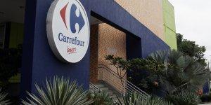 Enseigne d'un magasin Carrefour au Brésil