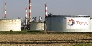 Total : raffinerie de pétrole de Grandpuits, sud-est de Paris