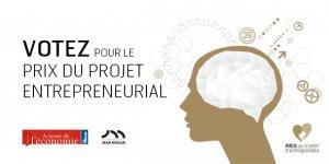 PEE appel aux votes projet entrepreneurial