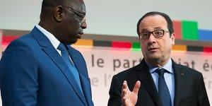 Macky Sall et François Hollande