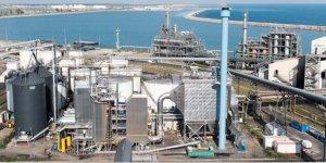 La nouvelle chaudière biomasse (au 1er plan) et l'unité d'estérification (au 2nd plan)