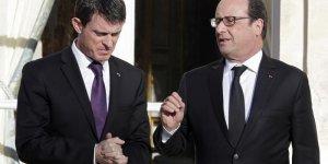 Les cotes de confiance de francois hollande et manuel valls en hausse