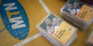 Un kit de démarrage (SIM) de l'opérateur télécom nigérian MNT (Nigéria)