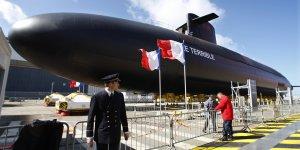 Le Terrible, dissuasion nucléaire, France, Areva TA, armée, défense, sous-marin nucléaire d'attaque,