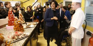 Myriam El Khomri, ministre du Travail, parti socialiste, François Hollande, Manuel Valls,