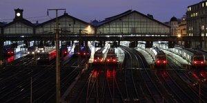 Train de nuit Saint-Lazare