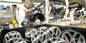 Volkswagen a mis en conformite moins de 10% de ses vehicules diesel